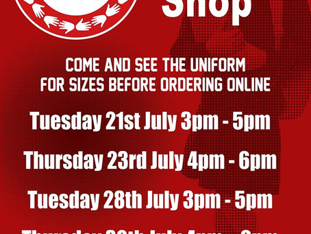 Uniform Pop Up Shop