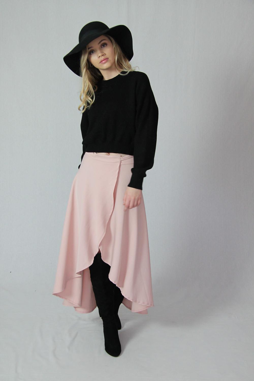 Silkess Winter Wrap Skirt