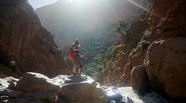 Canyon in Taghia