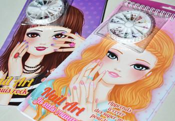 EDITIONS CERF VOLANT - Illustrations de carnets sur le nail art.