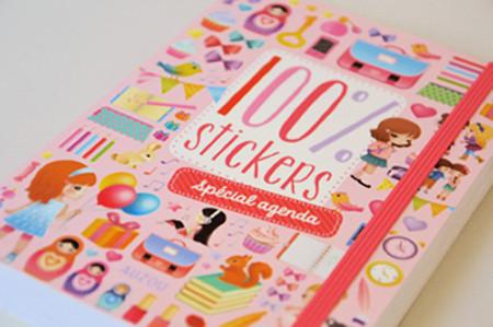 EDITIONS AUZOU - Illustrations d'un carnet de stickers.