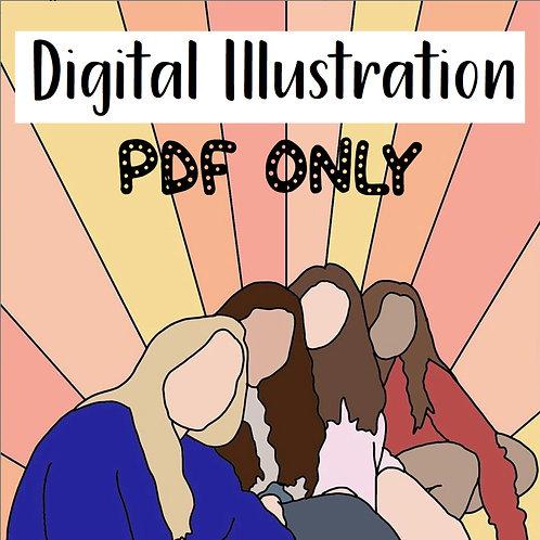 Digital Illustration PDF ONLY