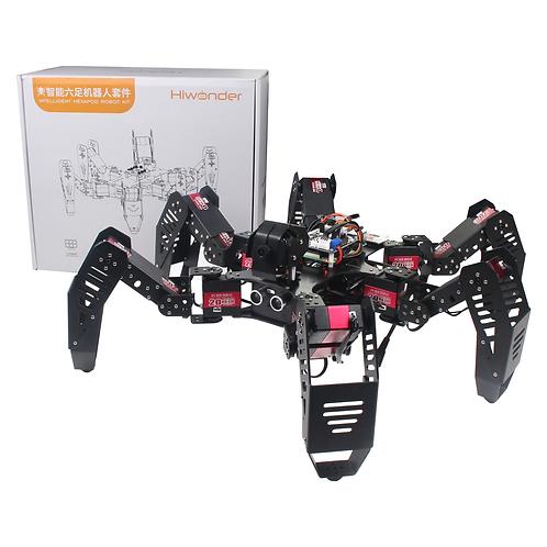 SpiderPi - HiWonder AI智能視覺六足機器人 (4G)