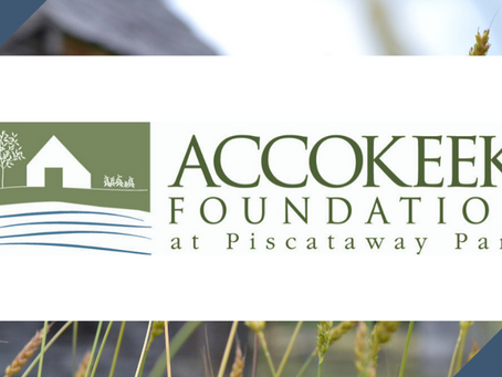 "Accokeek Foundation Receives $20,000 from ""Miller History Fund"""
