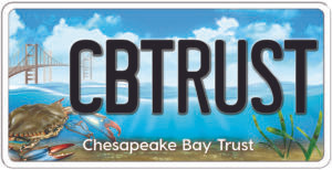 Chesapeake Bay Trust license plate logo