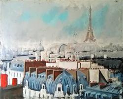 Paris I 120x150x4cm