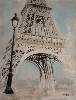 Eiffel tower I 80x100x2cm