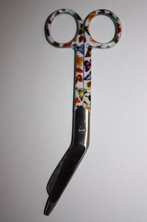BF Butterfly Design bandage scissors 5'5 (Small)