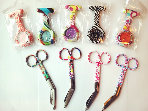 #RaffleBox Ticket - Prize: 1 Fob Watch & 1 Scissors you choose designs! MaaChild