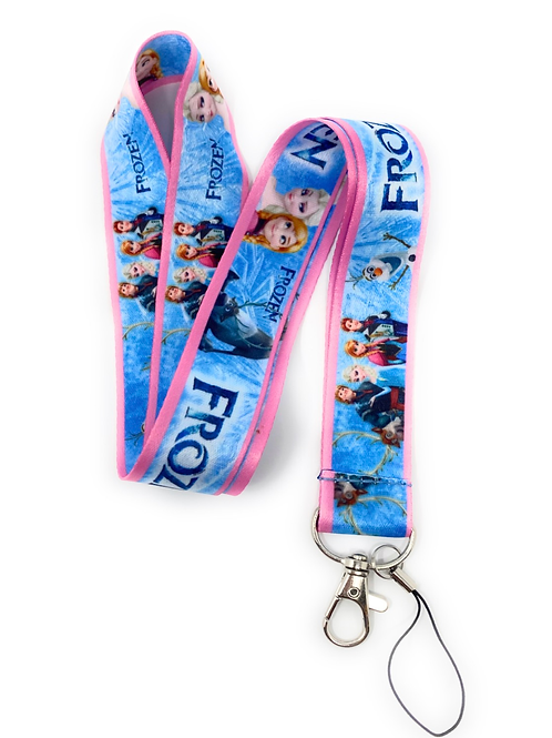 Frozen (Blue) Lanyard