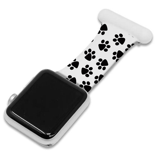 Paw Print Apple Watch Nurse Fob