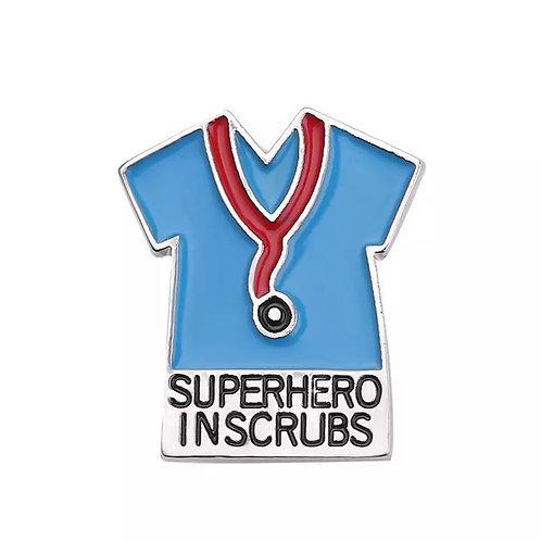 Superhero In Scurbs (Blue)