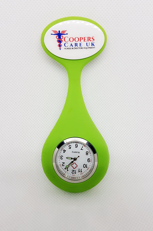 Official Coopers Care UK Fob Watch - Green