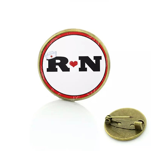 R ❤️ N Registered Nurse Pin