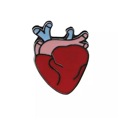 Heart Cardiology Cardiovascular Pin
