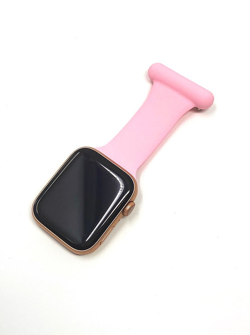 Apple Fob Watch Strap For Nurse Midwife Doctor (Pink)