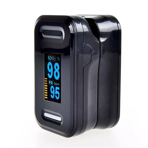 Pulse Oximeter Sats Machine Black/Silver
