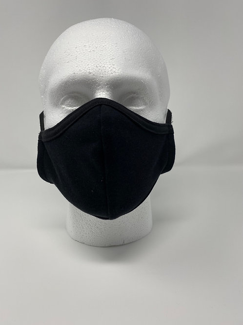 Face Shaped Double Layered Face Mask 100% Cotton (Reusable/Washable)