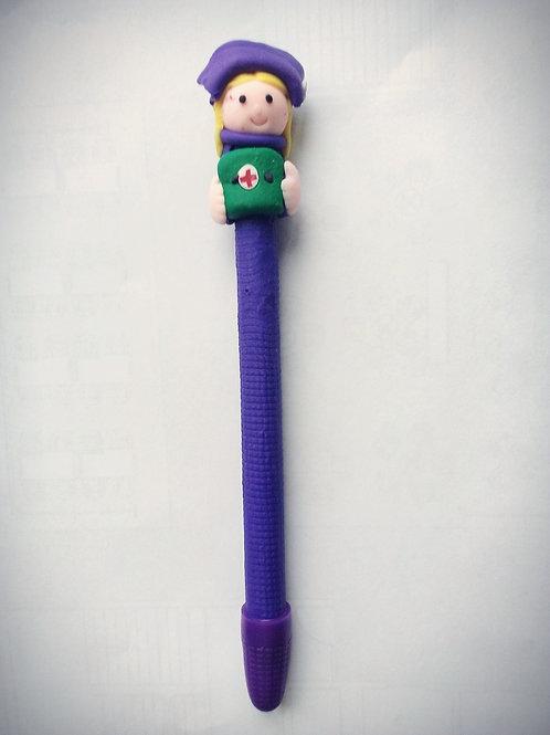 BF Purple Nurse Pen (Black inc)