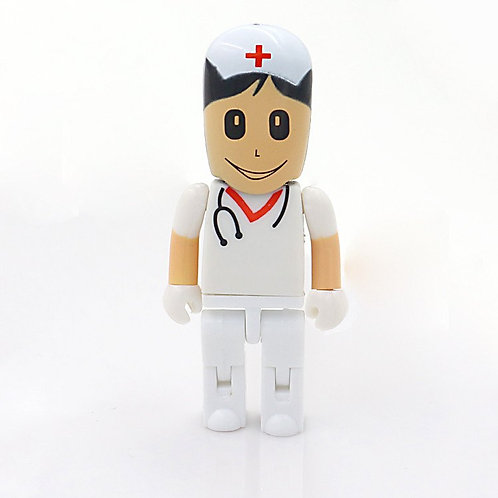 Doctor/Nurse USB 4GB (White)