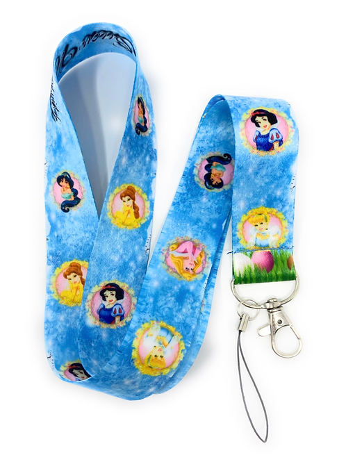 Mix Princess Lanyard