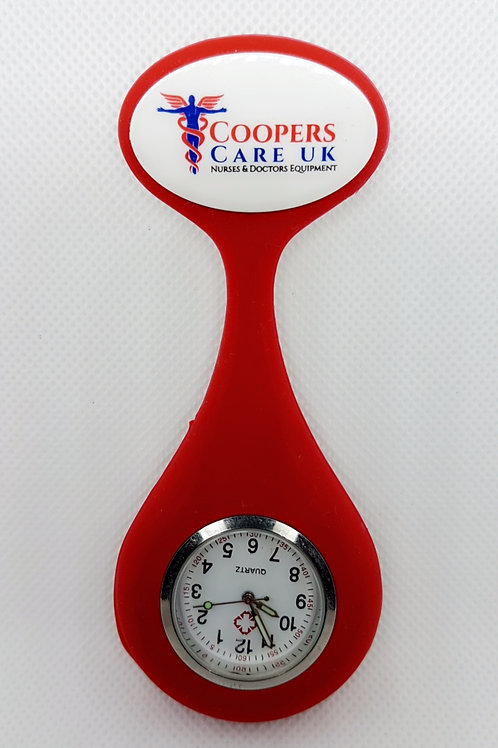 Offical Coopers Care UK Fob Watch - Red