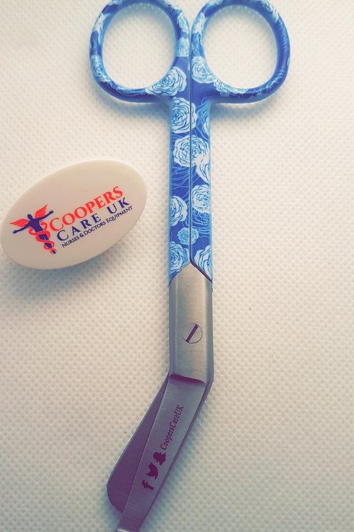 Blue Rose Bandage Scissor 5'5 (Small)
