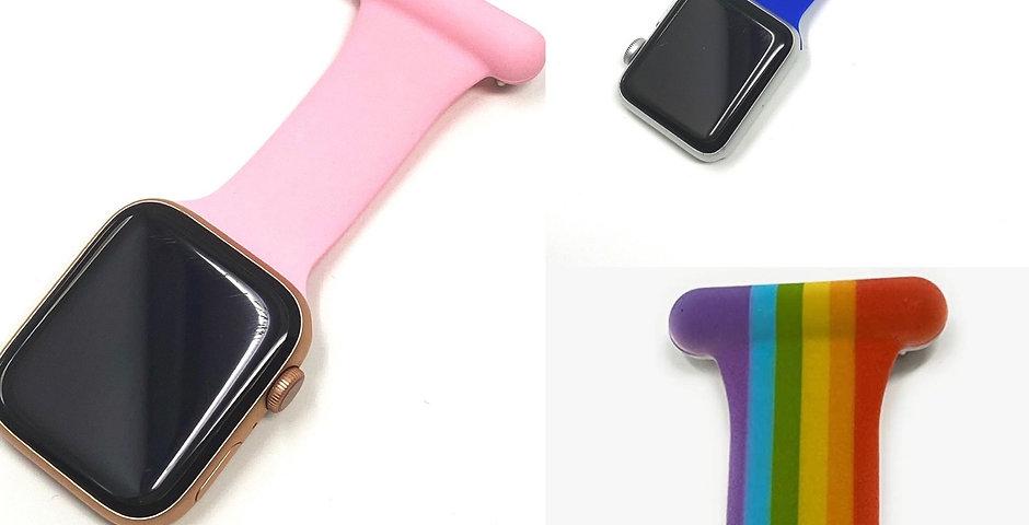 Fitbit Versa 1/2  Model Nurse Fob Strap!