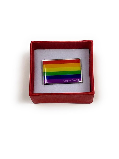 Official Pride Pin by Coopers Care UK