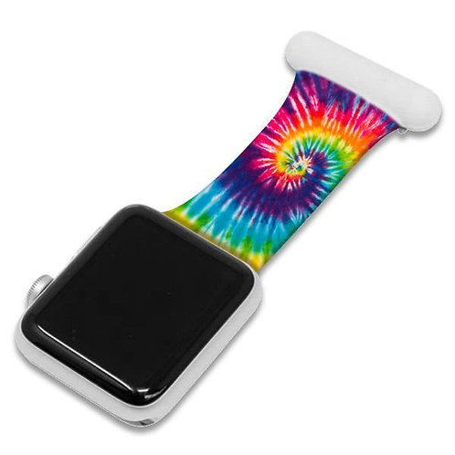 Colourful Print Apple Watch Nurse Fob