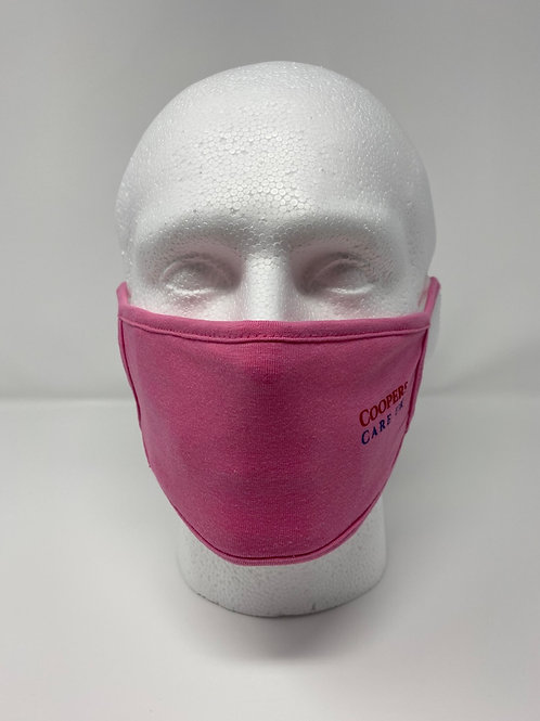 Double Layered Face Mask 100% Cotton (Reusable/Washable)
