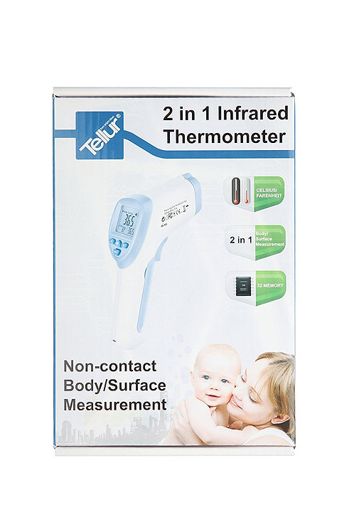 Tellur Infrared IR Digital Thermometer 2 in 1