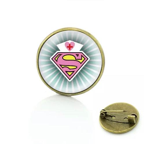 Super Hero Pin