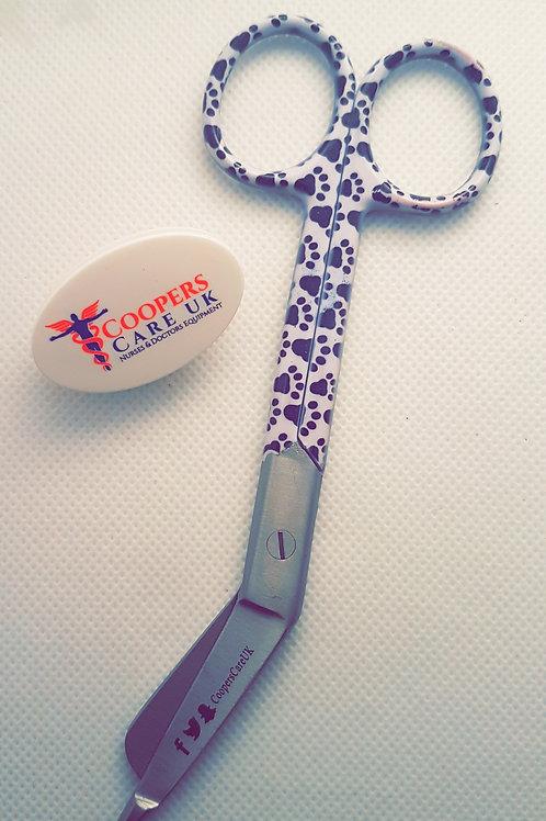 Paw Print Scissors 5'5 (Small)