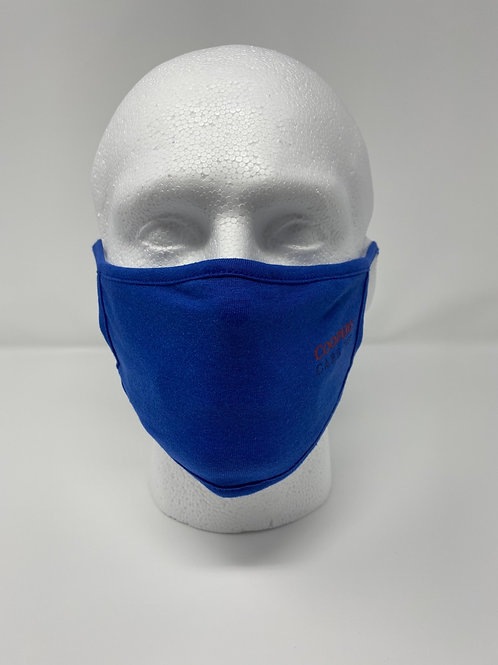 (100 Masks) Double Layered Face Mask 100% Cotton (Reusable/Washable)