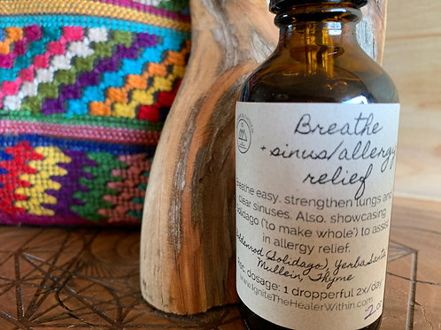 Breathe + allergy/sinus relief