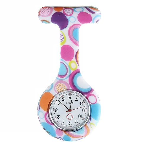 BF Colourful Bubble Fob Watch