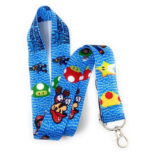 Super Mario Lanyard