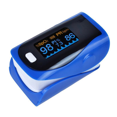 Pulse Oximetere SP02 Monitor (Blue)
