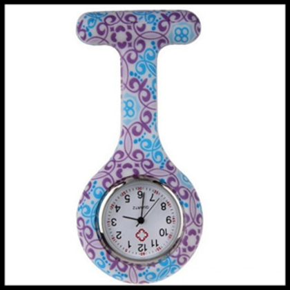 Purple and Blue Fob Watch