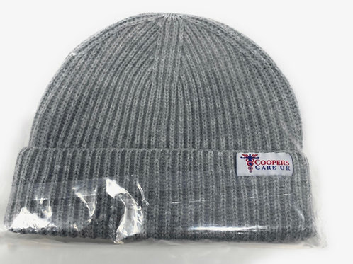Grey Winter Hat by Coopers Care UK