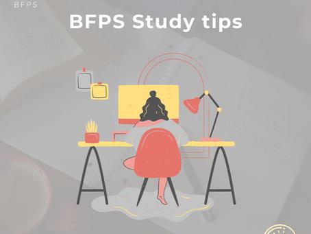 BFPS Study Tips