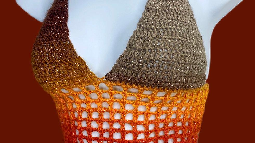 Autumn Net Top Custom