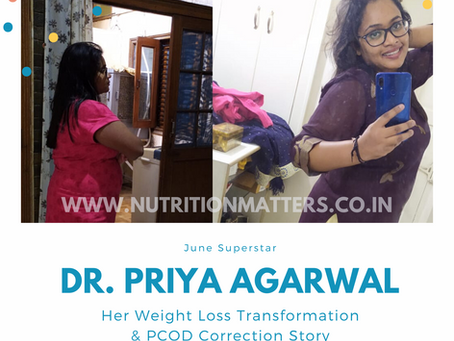 How Dr. Priya Agarwal lost Weight & Fought PCOD Symptoms in just 60 Days