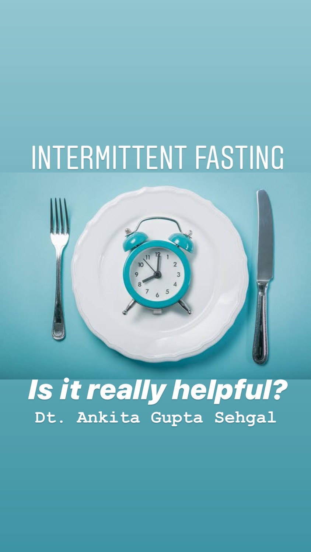 Intermittent Fasting Diet Plan or 7 Meals a Week Diet Benefits