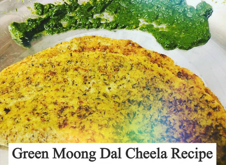 Up Your Game With This Healthy Green Moong Dal Cheela Recipe