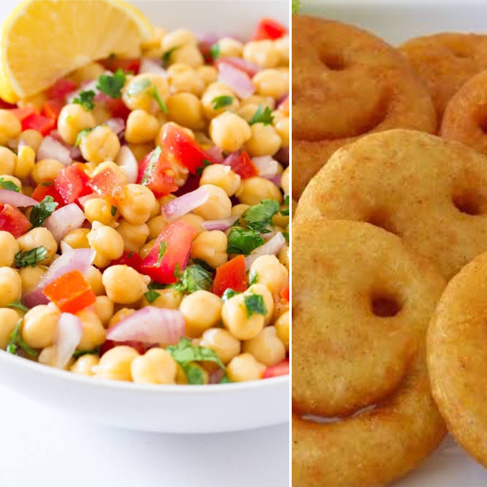 Chana Chaat vs Fried Snack Health Benefits