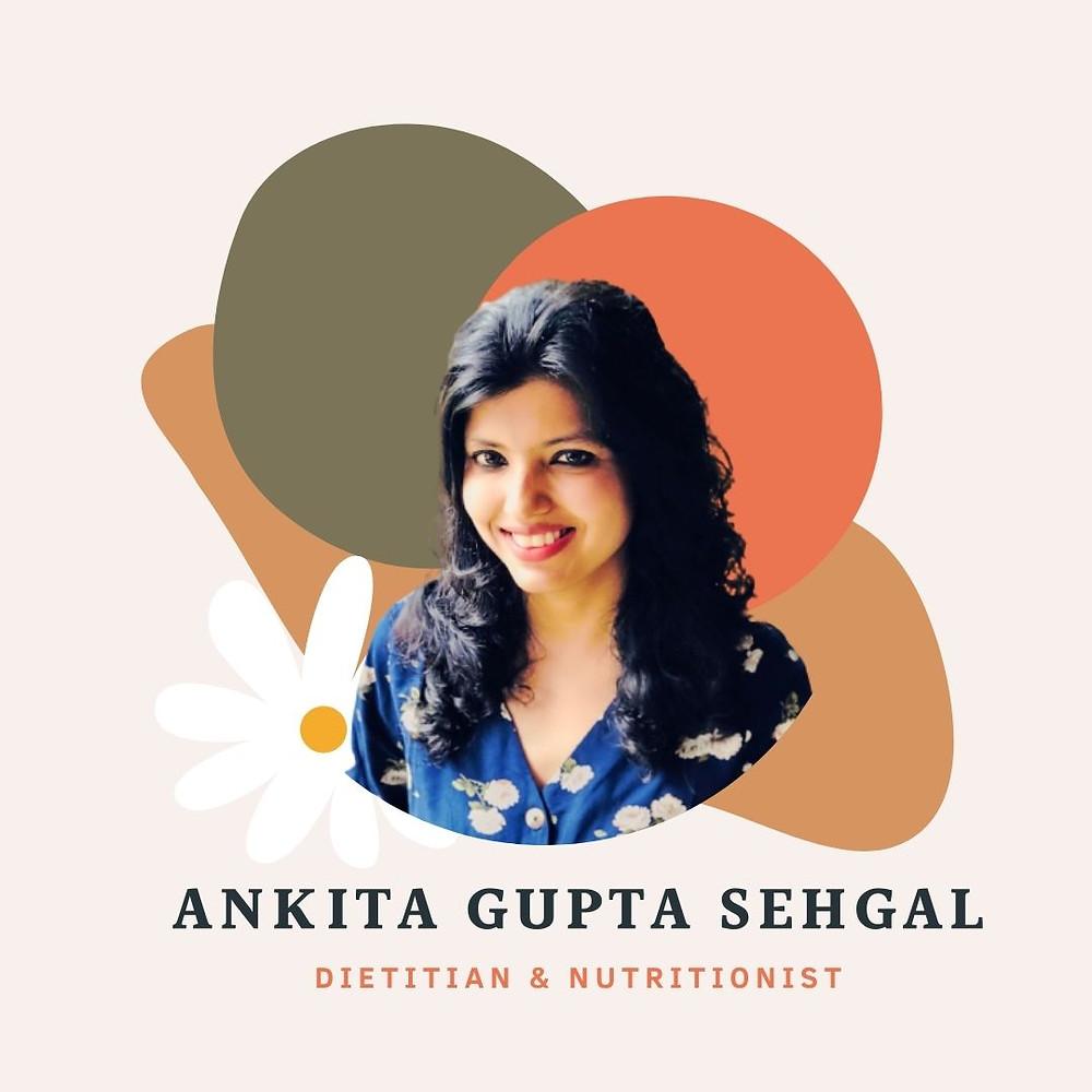 Ankita Gupta Sehgal - Best Dietitian in Delhi NCR, PCOD, PCOS, Celebrity, Easy diet
