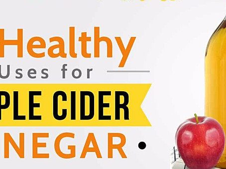 Apple Cider Vinegar - The Magic Health Potion! Just 1 tbsp per day; Keeps all these Health Problems