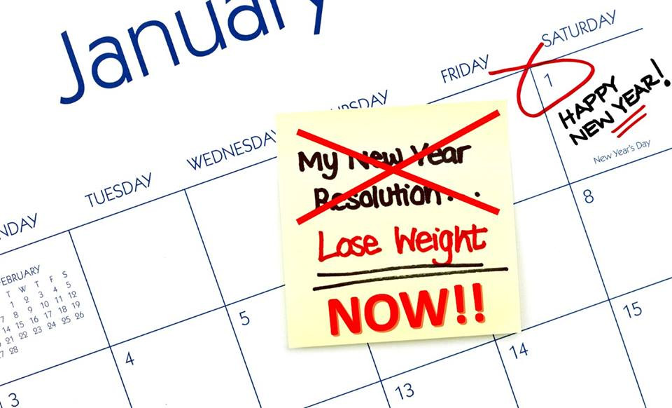 Lose Weight in The New Year Resolution